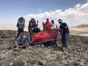 گزارش برنامه قله پاشوره شرقی