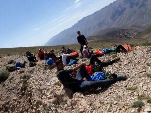 قله دماوند از پاشوره
