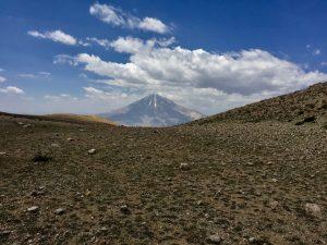 نمای قله دماوند
