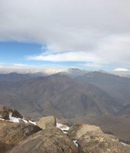 مسیر صعود قله پورا
